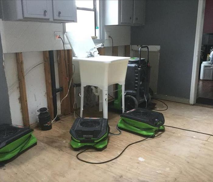 Home in Sandy Plains Sustains Water Damage in Kitchen After
