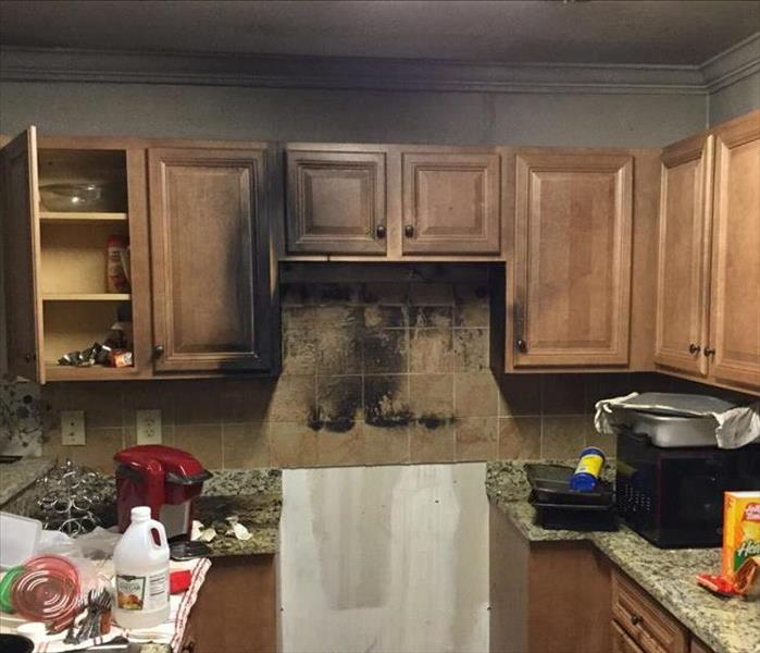 Kitchen Fire Before