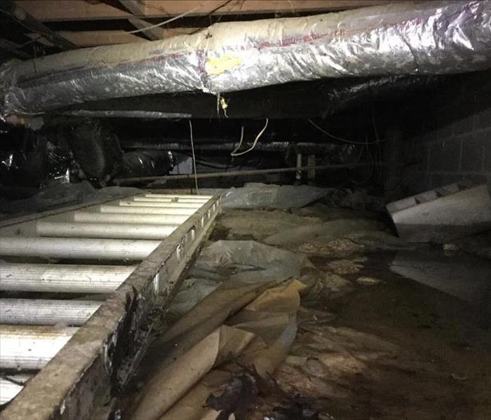 Water Extraction In Cumberland GA Crawlspace