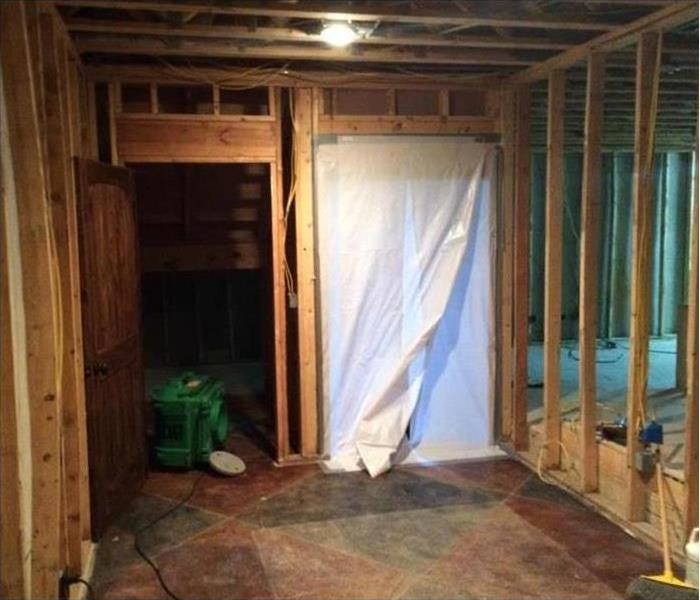 Quarantining Mold Effected Area