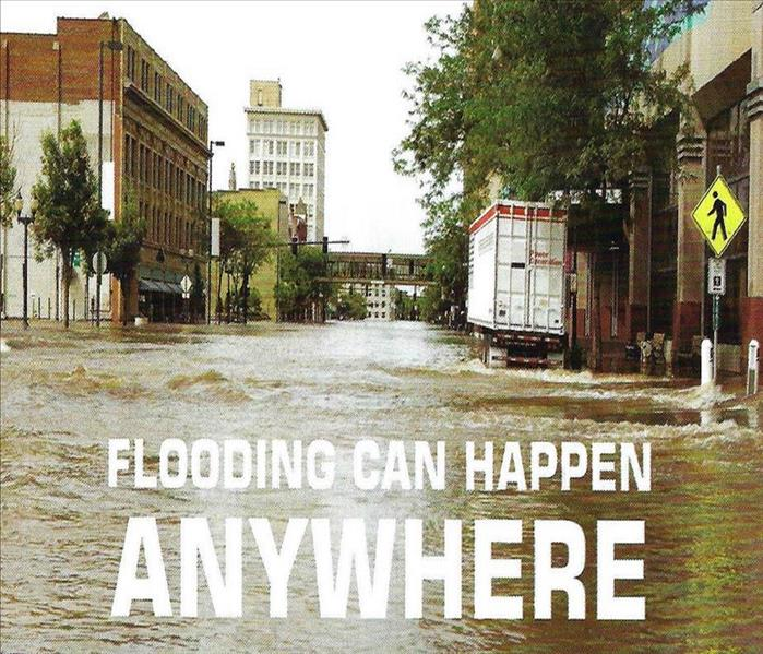 Water Damage Flooding Can Happen Anywhere