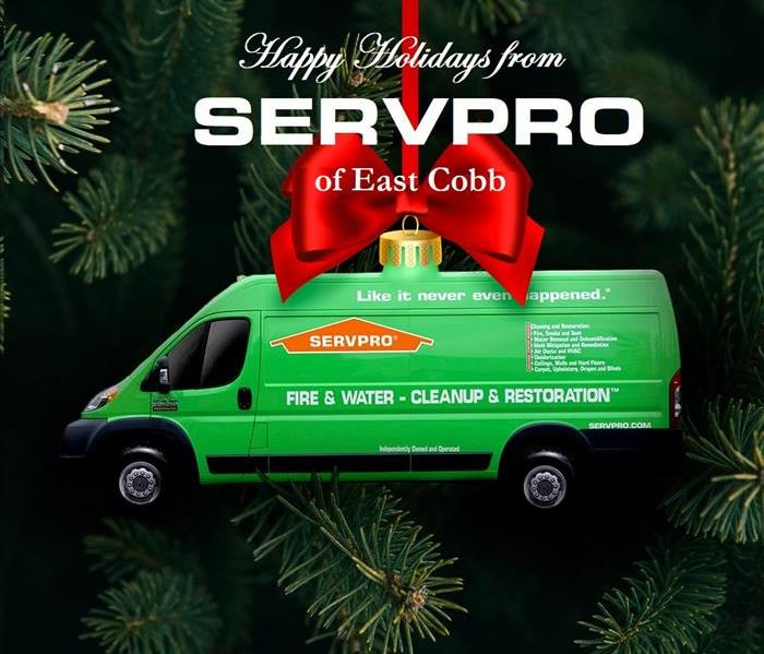 SERVPRO van ornament