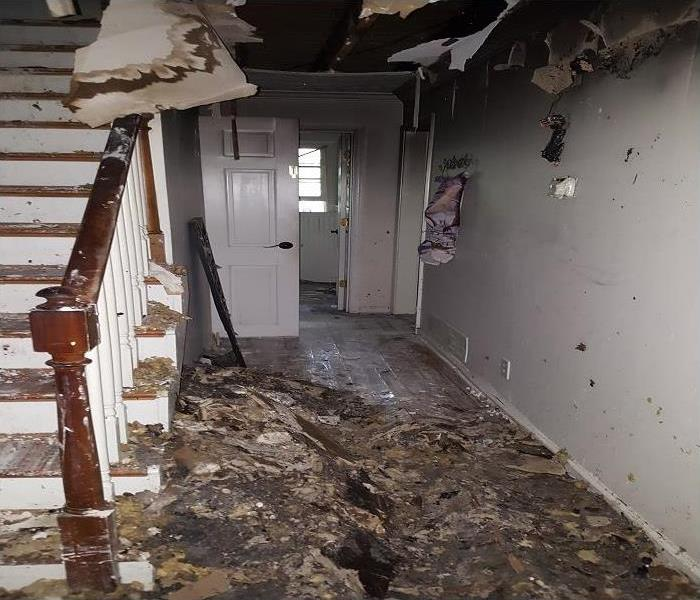 Fire Damage SERVPRO Salvages Sandy Plains Fire Damaged Homes Quickly