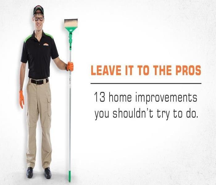 servpro cleaning technician